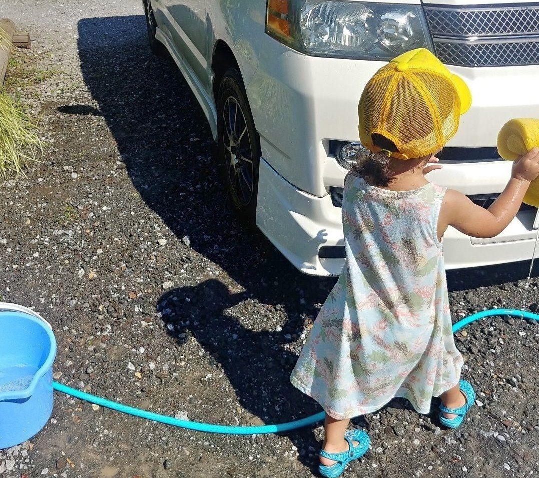 洗車の担当者です