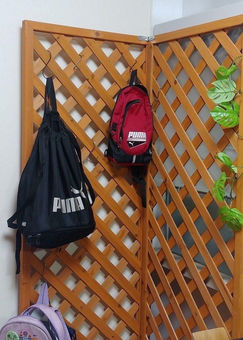 自分でバッグの管理ができる仕組みです
