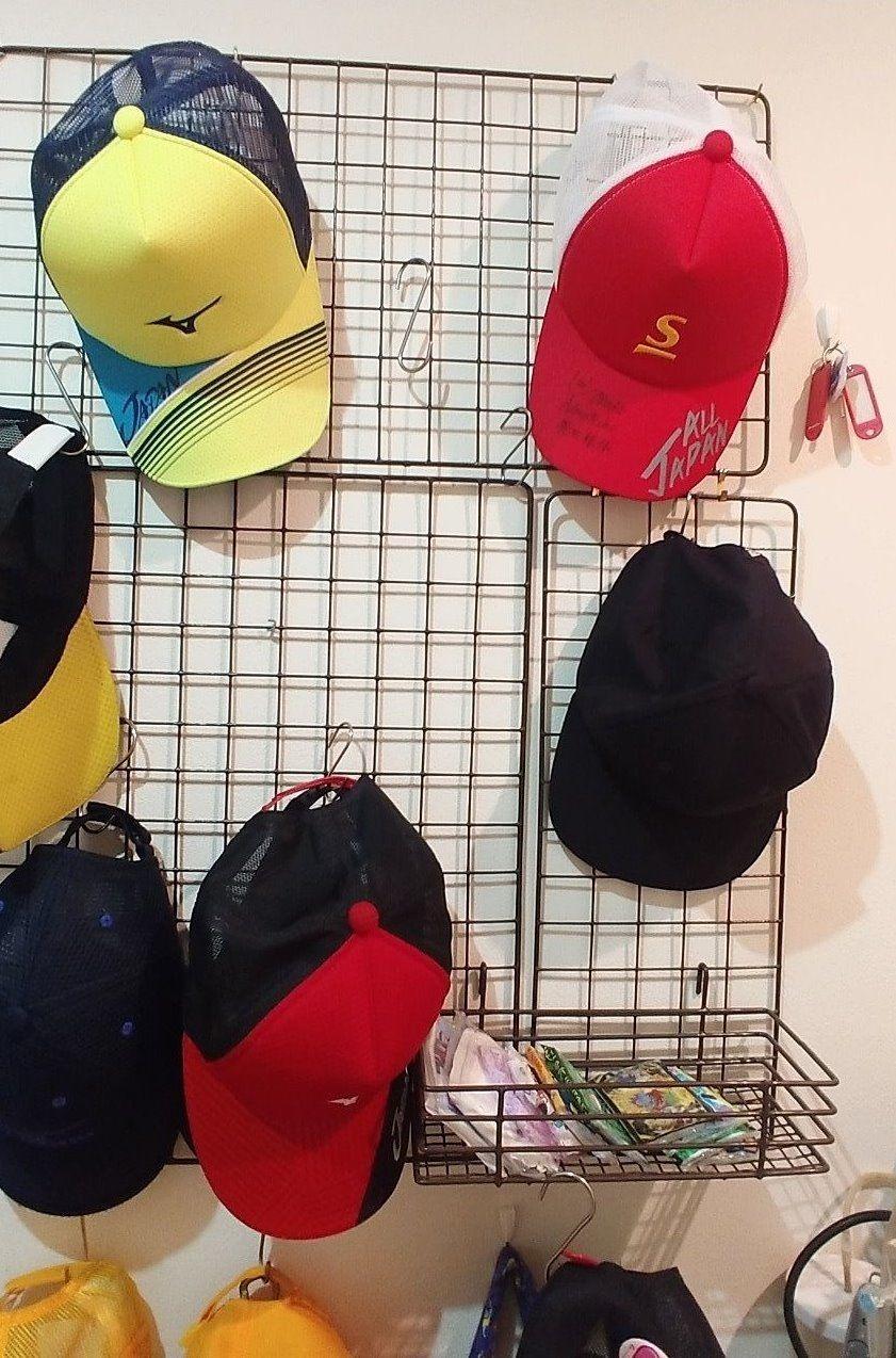 帽子の収納方法