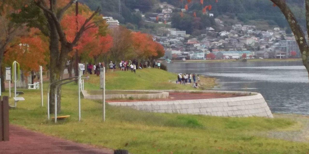 小学生のマラソン大会も行われています