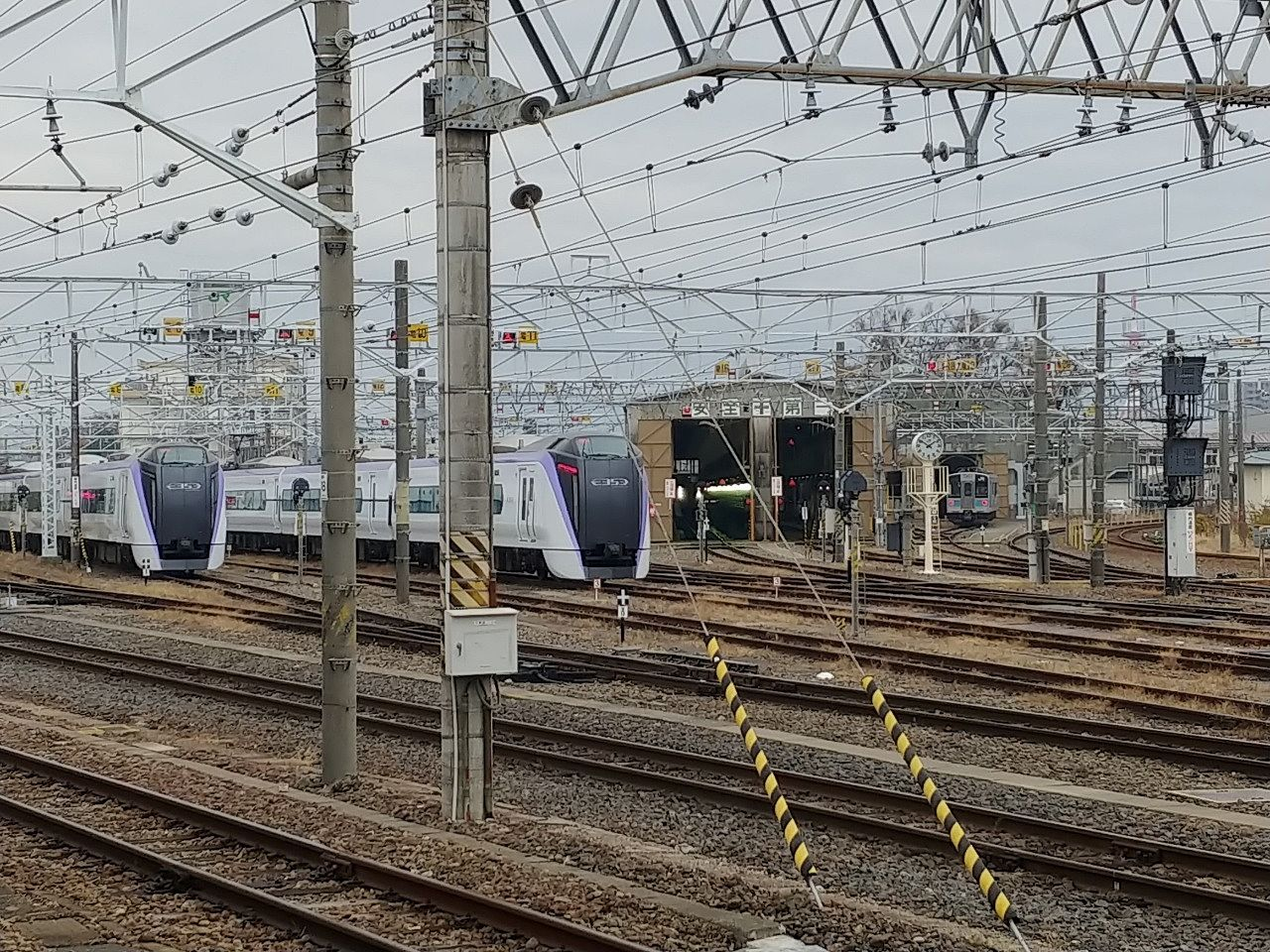 松本駅の様子