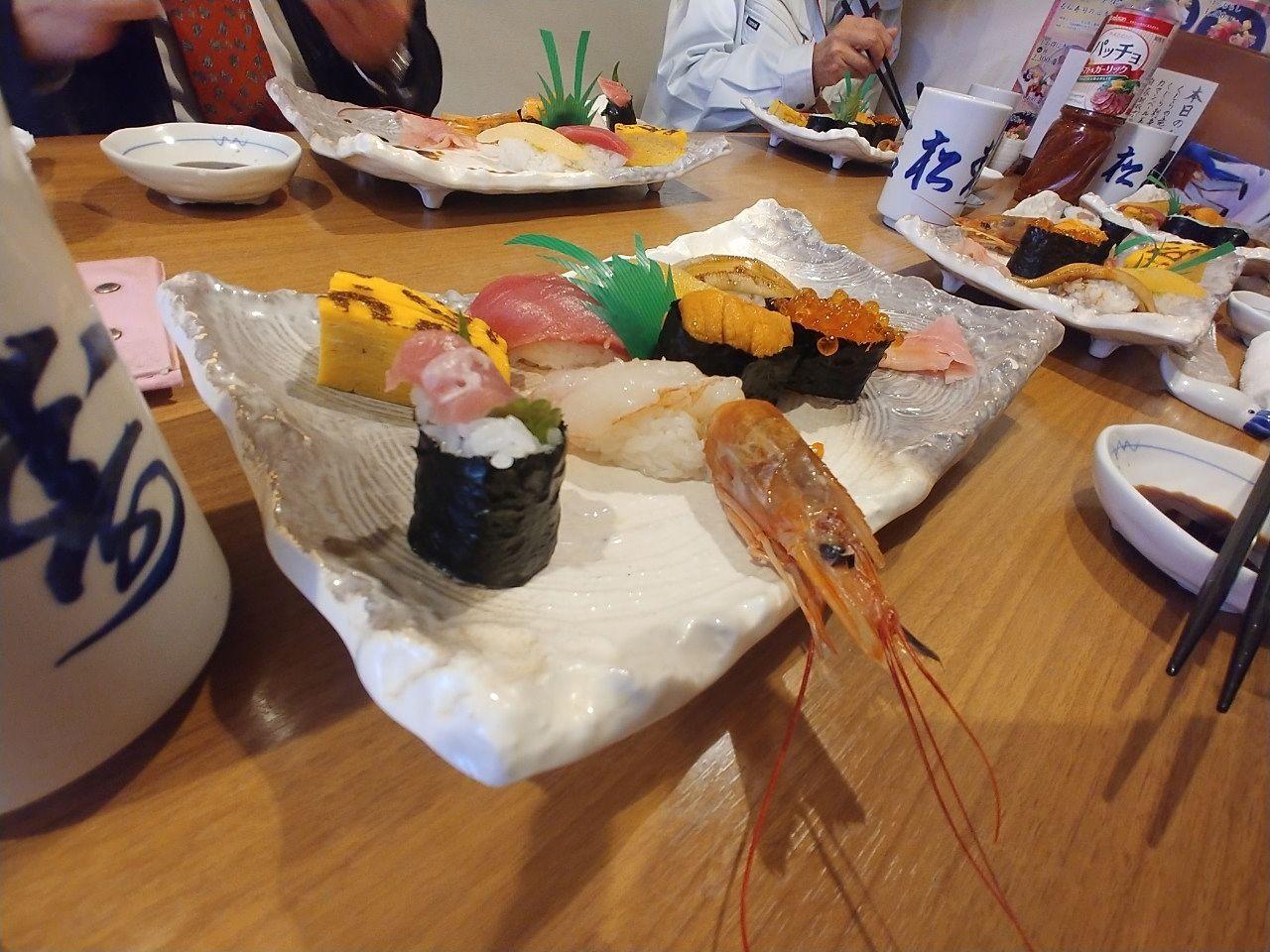若松寿司でランチ