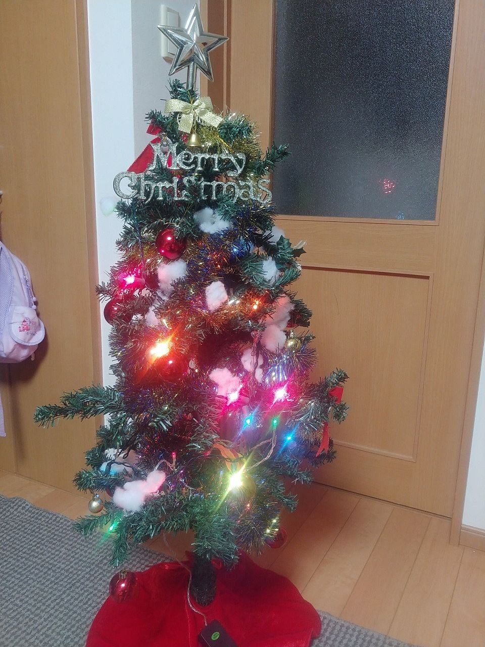 家庭用 小さなクリスマスツリー