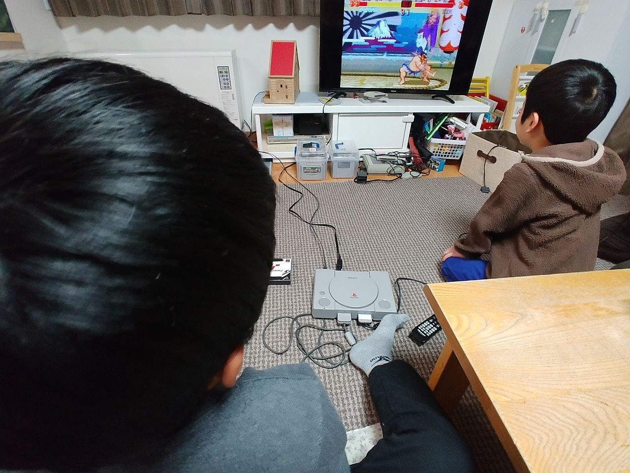 兄弟でゲーム対決