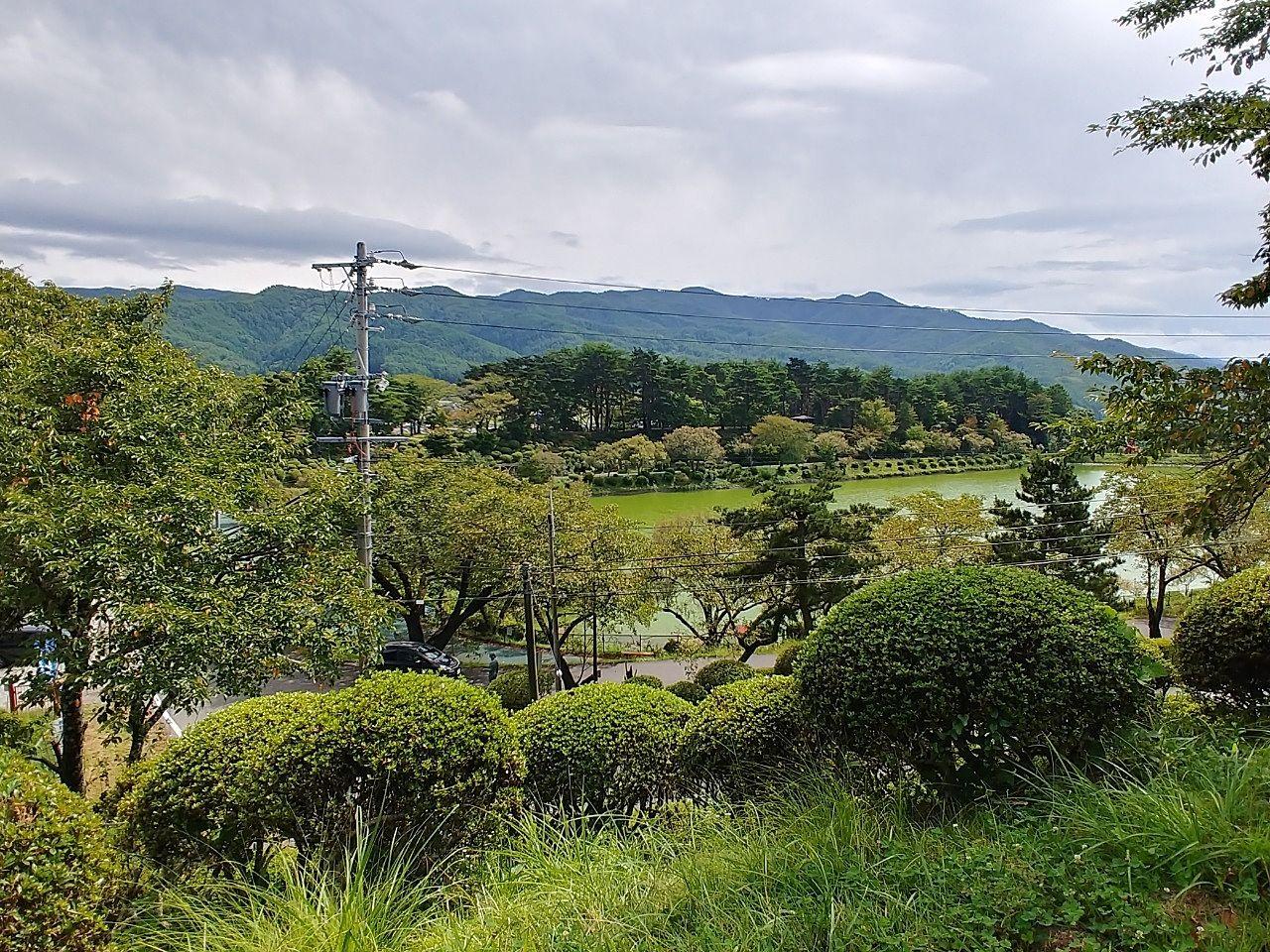 足を伸ばして 公園散歩✩~辰野町荒神山公園~