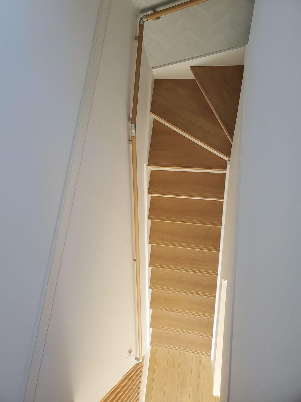 階段からパチリ^^