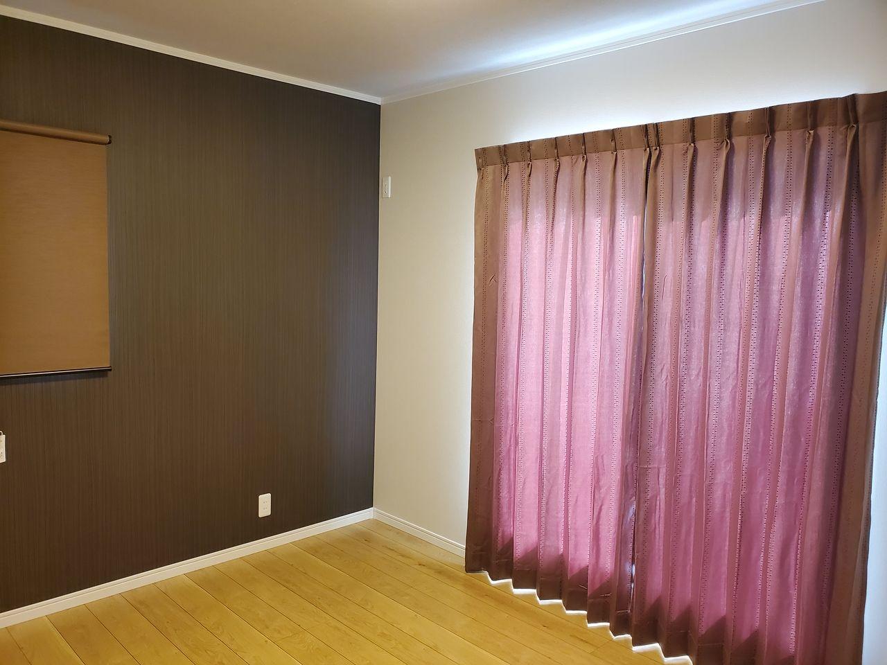 素敵なカーテン 設置完了^^