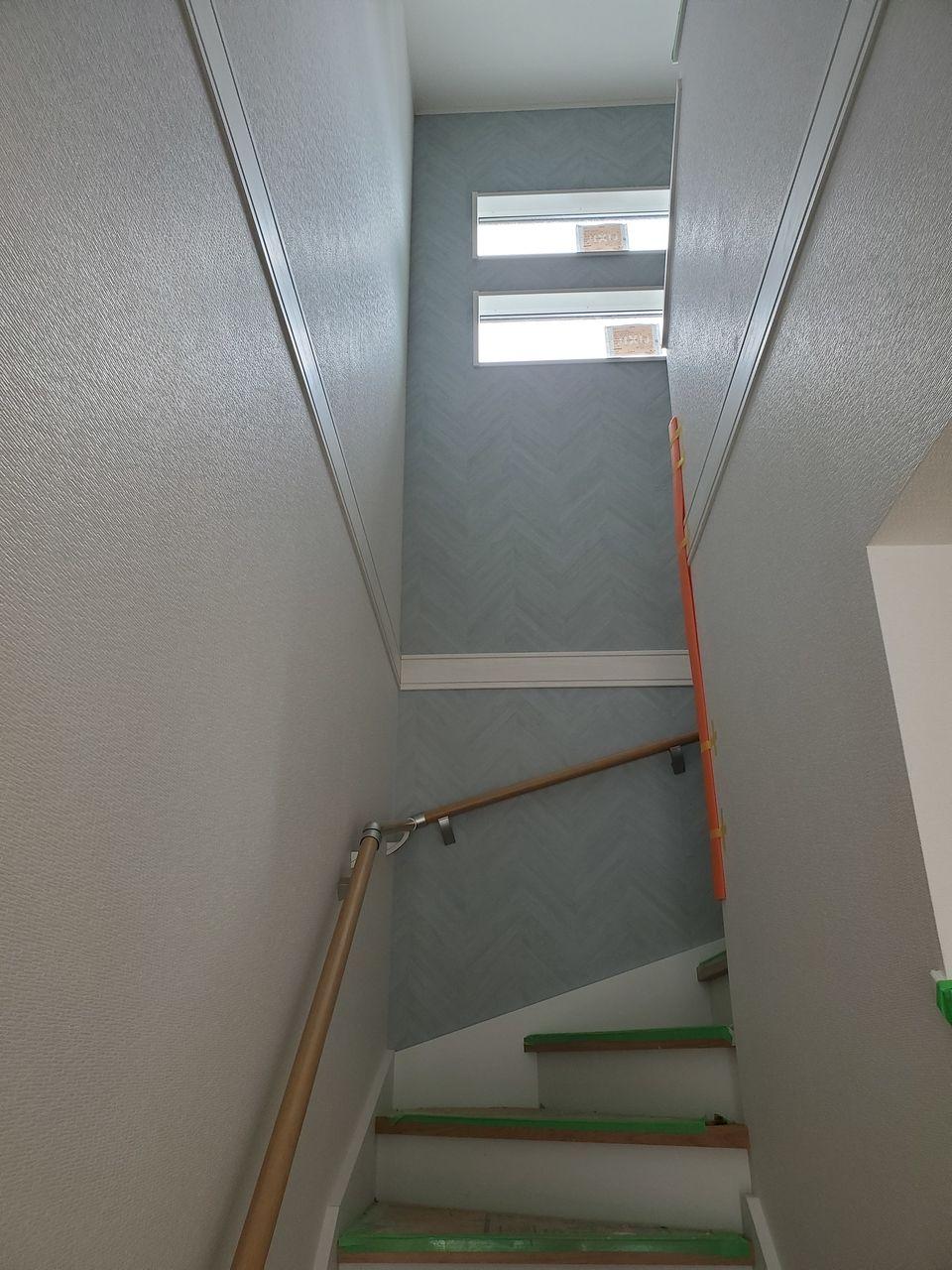 毎日上り下りする階段