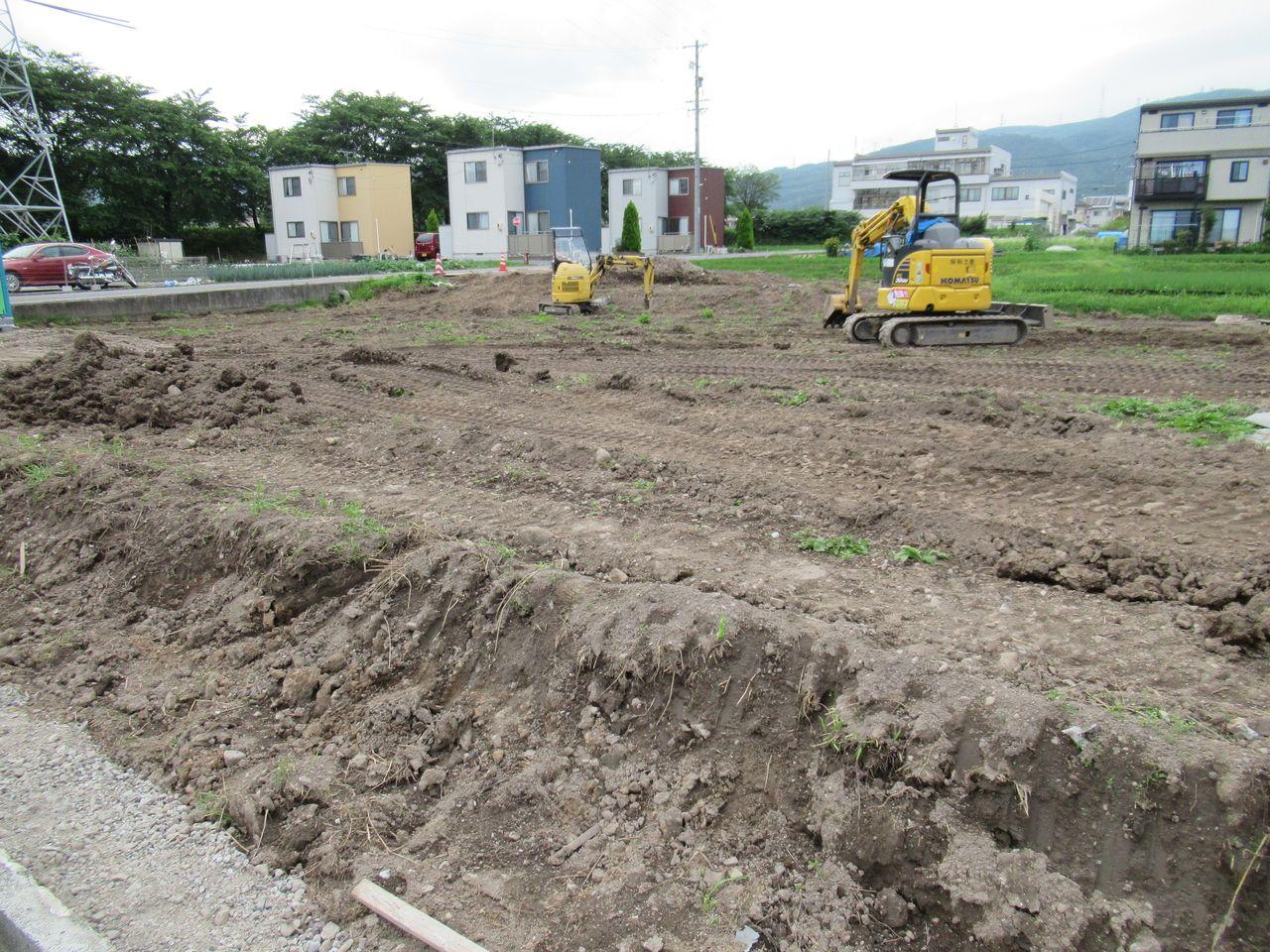 良い土です。植物がスクスクと育ってくれそうですね