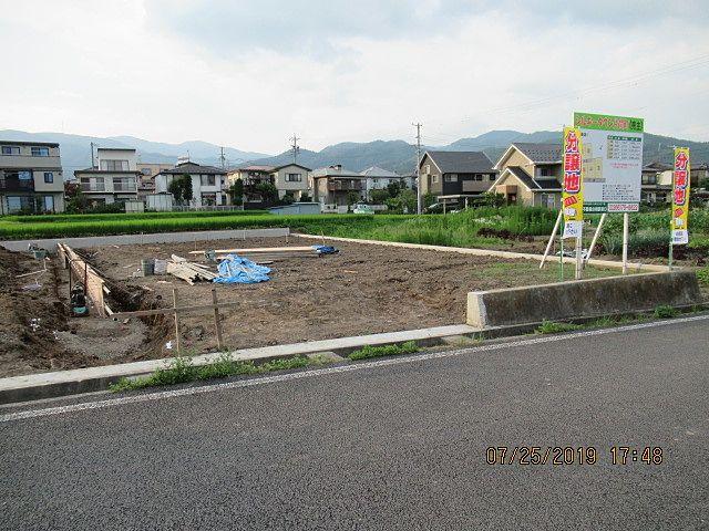 この3号区画が、今回の分譲地の中でもっとも広い敷地です。