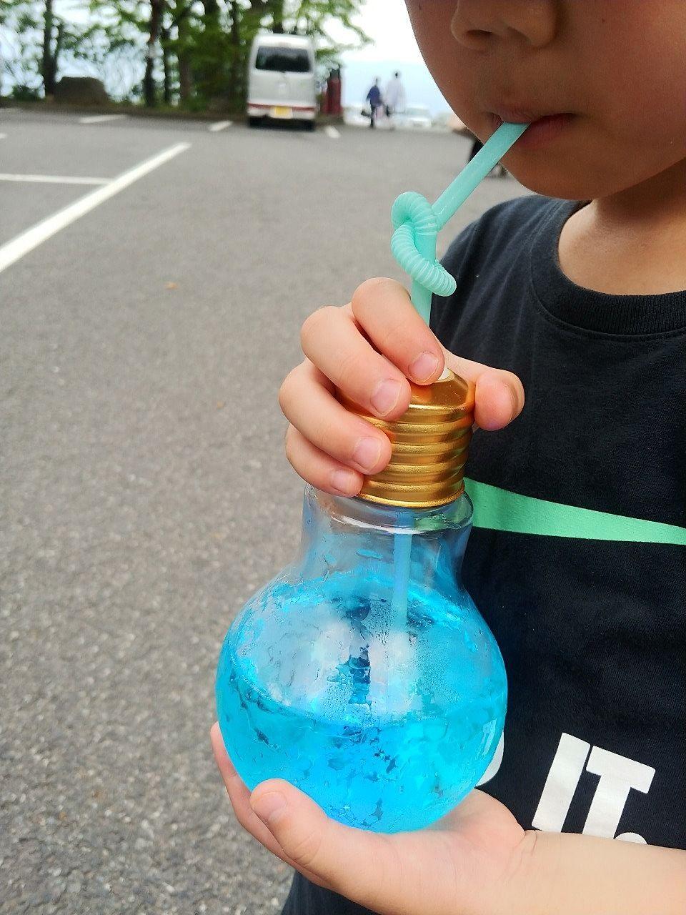 電球ジュースです