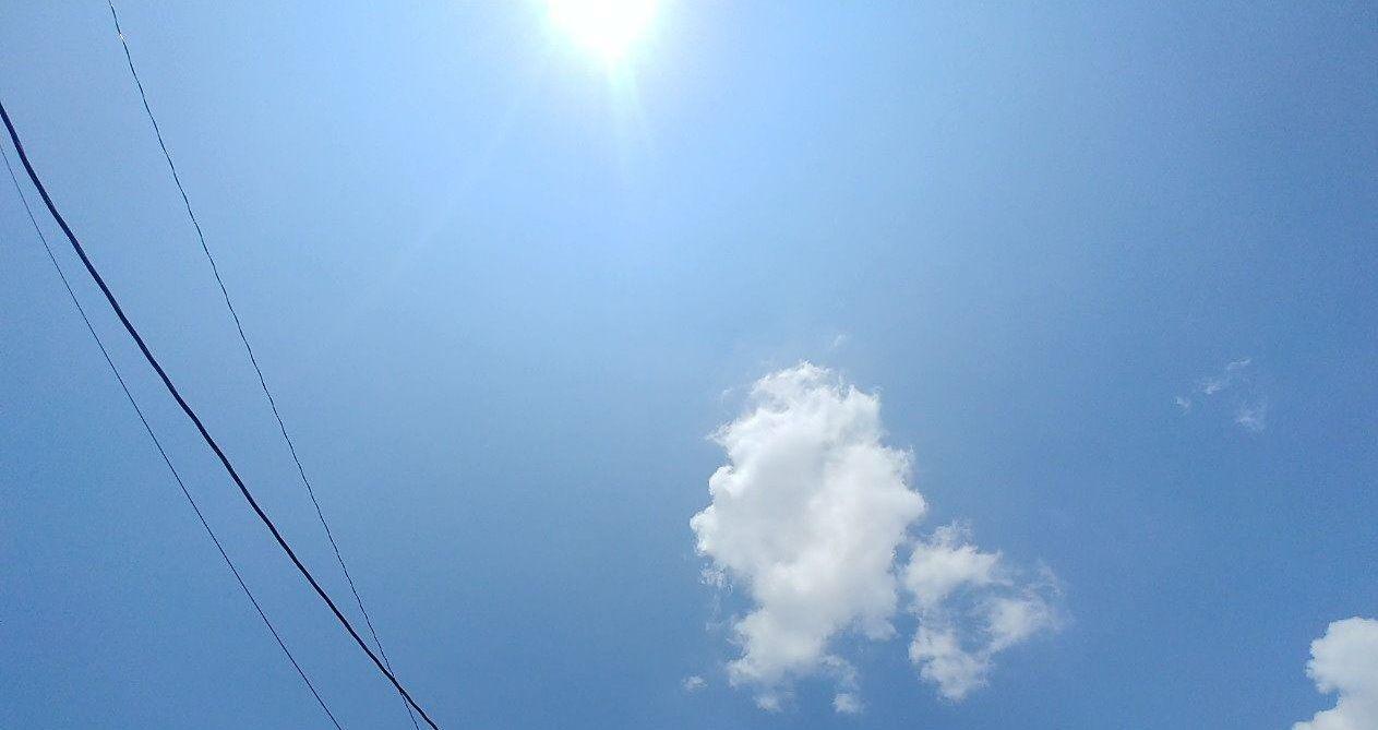 本祭りは晴天に恵まれてスタートです