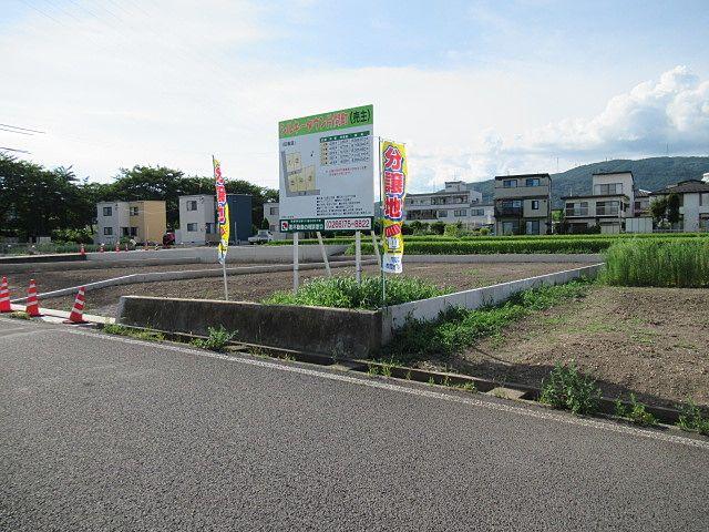 5区画の新規宅地造成工事が竣工しました。